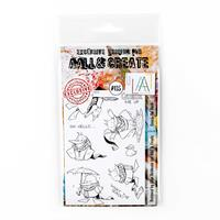 AALL & Create Stamp Set  - Quack the Duck - 9 Stamps-788853