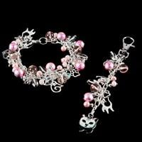 Aldridge Crafts Bead & Charm Bracelet Kit with Bag Charm-788870