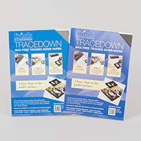 Tracedown A4 Graphite - 2 x Pack of 5 Sheets-789082