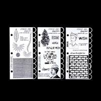 3 x Studio 490 Stamp Sets - Graffiti Art, Funky Flower Art & 3 Ch-789592