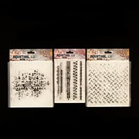 Studio Light 3 Background & Border Stamp Sets - 6 Stamps in Total-791691
