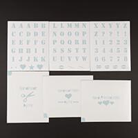 Dinky Screens Alphabet Design Stencils-791692