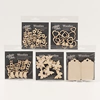 Artistic Flair Set of 5 Pick 'n' Mix Woodies-791748