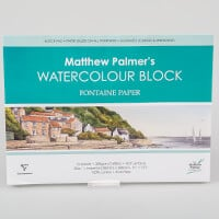 Matthew Palmer Watercolour Block - 300gsm, 1/4 Imperial-793463