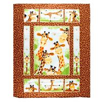 The Kilted Quilter Giraffe Panel 90x109cm - 100% Cotton-793584