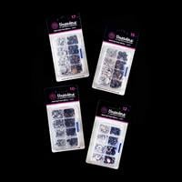 Threaders 10mm, 12mm, 15mm & 17mm Snap Button Refill Packs-795609