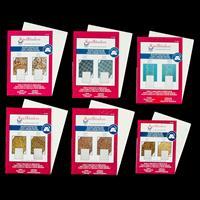 Spellbinders 6 x M-Bossabilities Embossing Folders - Enchanted, V-798285