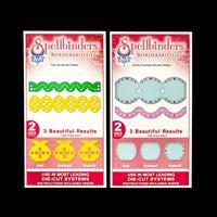Spellbinders Borderabilities 2 x Dies Sets - Fair Isle & Jumbo Sc-800232
