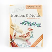 Ready to Stitch Borders & Motifs by Michaela Learner- 84 Reusable-800683