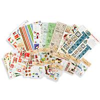 30 Piece Cardmaking Kit   12 A4 Die Cut Sheets  6 A5 Sticker Shee-803609
