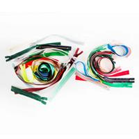 Set of 60 Closed End Zips - Assorted Colours - 4 to 30 Inches Lon-803702