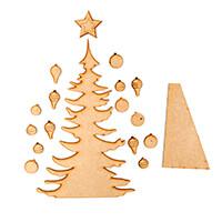 Dawn Bibby Festive MDF Tree Kit-804358
