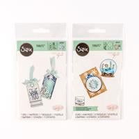 Sizzix® Thinlits™ Set of 13 Dies - Christmas Ornament & Tags with-805799
