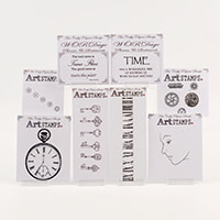 Bee Crafty Stamps - Time Collection - 17 Stamps in Total-806148