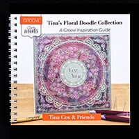 Clarity ii Book: Tina's Floral Doodle Collection worth £10.99-806598