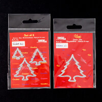 CREAlies Set of 4 Dies   Christmas Trees-806860