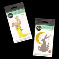 Sizzix® Thinlits™ Set of 20 Dies - Midnight Hare by Sophie Guilar-807749