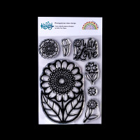 Kelly Cuts Paper A6 Stamp Set - Scandinavian Flower-807791