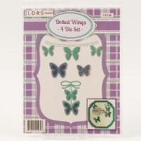Little Darlings Dotted Wings Die Set-807942