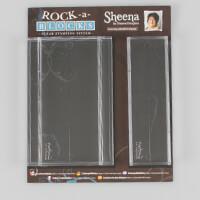 Sheena Pack of 2 Clear Rock a Blocks - 7