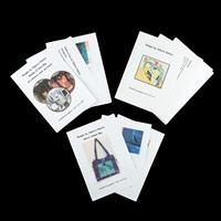 Juberry Fabrics Set of 3 Bag Patterns (Shades of Grey, Messenger -809864