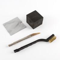 The PMC Studio Polishing Kit - Rubber Block, Burnisher, Brass Bru-813073