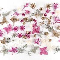 Dawn Bibby 96 Piece Fantasy Glitter Embellishment Kit - Pastel-816745