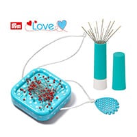 Prym Love Sewing Set- Thread Cutter, Needle Twister, Magnetic Pin-820959