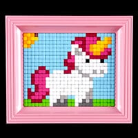 Pixelhobby UK XL Unicorn Kit - 1 x Baseplate, 15 x XL Pixelsqaure-821330