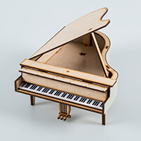 Candy Box Crafts Grand Piano Kit-822703