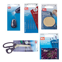 Empress Mills Easy Use Sewing Set- LED Needle Threader, Pins, Sel-826298