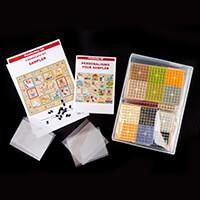 PixelHobby UK 9 Baseplate Sampler - 9 Baseplates & Pixelsquare Sh-828674