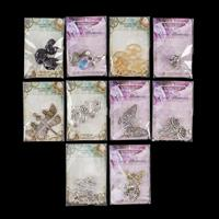 Craft Box 10 x Packets of Charms - Approximately 26 Pieces-829948