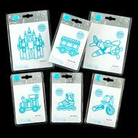 Rocco 6 x Die Sets - The Play Collection - Train, Bike, Skate, Ca-829967