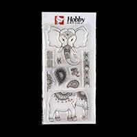 Hobby Art Indian Summer by Sharon Bennett DL Clear Stamp Set - 8 -832315