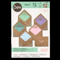 Sizzix® Thinlits™ Set of 7 Dies - A7 Intricate Envelope Liners-832412