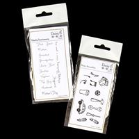 Daisy B Manly Sentiments and Men's Amazabits Stamp Sets - 28 Stam-832457