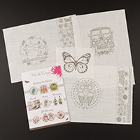 Pink Ink Designs, Colour, Cut & Create - Sewing Machine 3D, Owl 3-832629