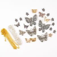 Aldridge Crafts Dazzling Butterflies Pendant Kit - 13 x Pendants -832783