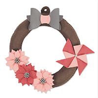Sizzix® Bigz™ Plus Die – Hanging Wreath-832958