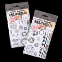 AALL & Create 2 x Clear Stamp Sets - Maker Marks & Dot Matrix - 2-835067