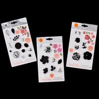 Tonic Essentials 3 x Bunched Bouquet Stamp Sets - 28 Stamps Total-835277