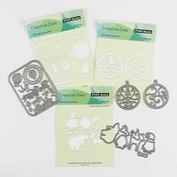 Penny Black 3 x Die Sets - Love to Travel, Baubles & Cuddly Winte-835532