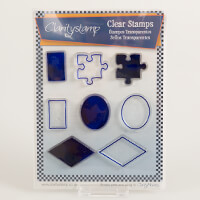 Claritystamp Sams Shapes Clear Stamps - Jigsaw-836063