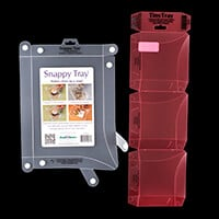 Stamp Addicts - 1 Snappy Tray and 3 Tiny Trays-836720