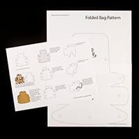 Craft Yourself Silly Folding Bag Pattern-836879