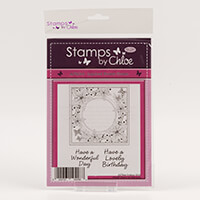 Stamps by Chloe Layered Flower Frame Stamp Set-838156