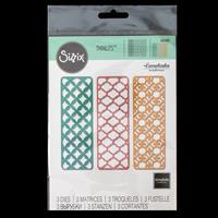 Sizzix® Thinlits™ Set of 3 Dies - Creative Backgrounds-838495