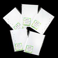 Festival of Japan 9-Hole Pre-Punched A5 Paper & Cover Set -  Make-838999