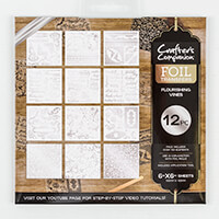 Crafter's Companion Foil Transfers - Flourishing Vines-840297